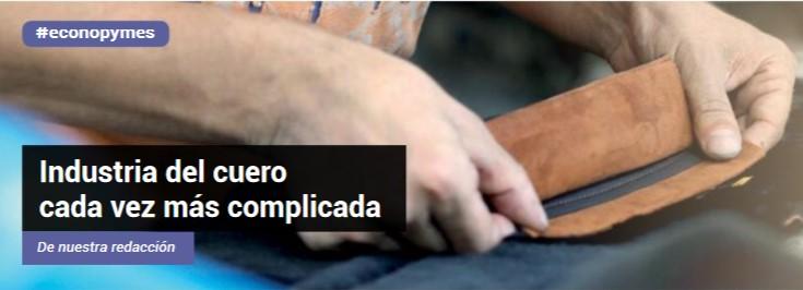 INDUSTRIA DEL CUERO, CADA VEZ MÁS COMPLICADA