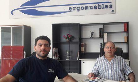 Ernesto y Martín Silva, padre e hijo, emprendedores de una pyme