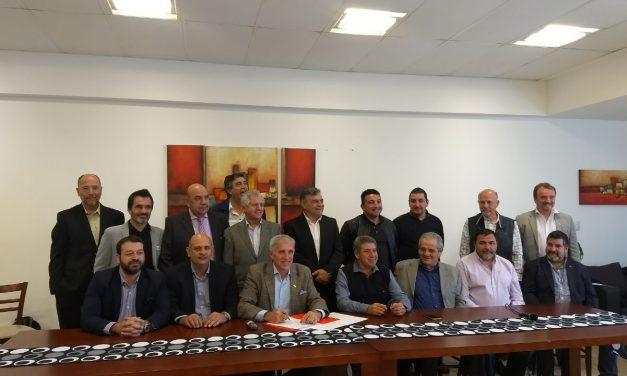 Las cámaras integrantes del C20 firmaron el Acta Fundacional el día martes 10 de octubre