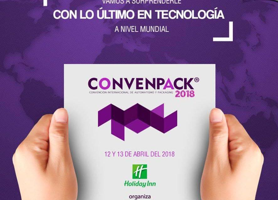ConvenPACK® 2018en el Hotel Holiday Inn Córdoba, jueves 12 y vienes 13 de abril