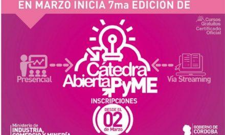 Cátedra Abierta Pyme: Capacitación gratuita y con certificados oficiales