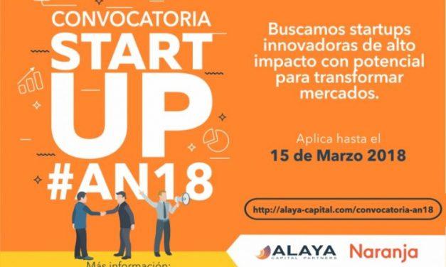 Naranja y Alaya lanzan convocatoria para Startups de Latinoamérica