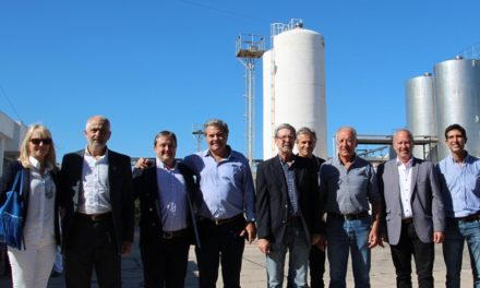 La planta láctea de Coronel Moldes alcanzó un pico de producción