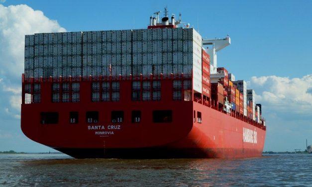 Transporte Marítimo en Contenedores de 45 pies