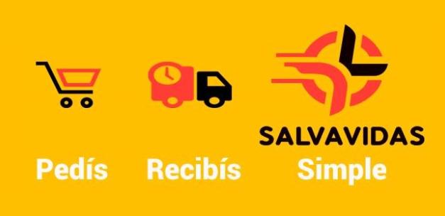 Salvavidas, la app que te ayuda a hacer las compras diarias. Pedís, Recibís, Simple.