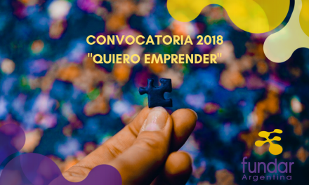FUNDAR ARGENTINA CONVOCA A  EMPRENDEDORES