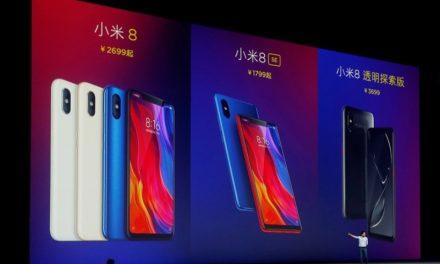 Furor por el Xiaomi Mi 8 el teléfono chino muy similar al iPhone X