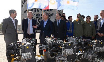 Las escuelas técnicas realizarán prácticas con motores Fiat