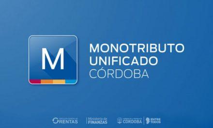 Entró en vigencia el Monotributo Unificado Córdoba