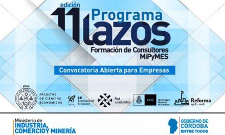 Programa Lazos: consultoría gratuita para emprendedores
