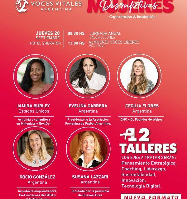 """""""Mujeres Disruptivas"""", la nueva propuesta  de Voces Vitales"""