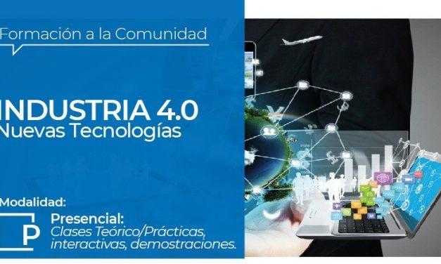 Capacitación: Industrias 4.0 y Nuevas Tecnologías en la UTN