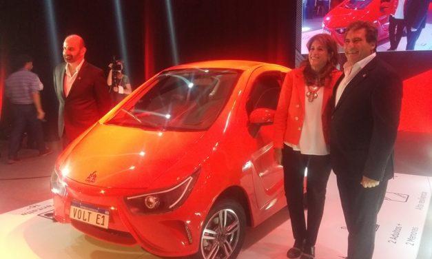 Volt Motors lanzó el primer vehículo eléctrico fabricado en la Argentina