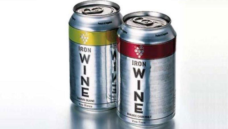 ¿Qué sucedió con el primer vino en lata que se produjo en el país?
