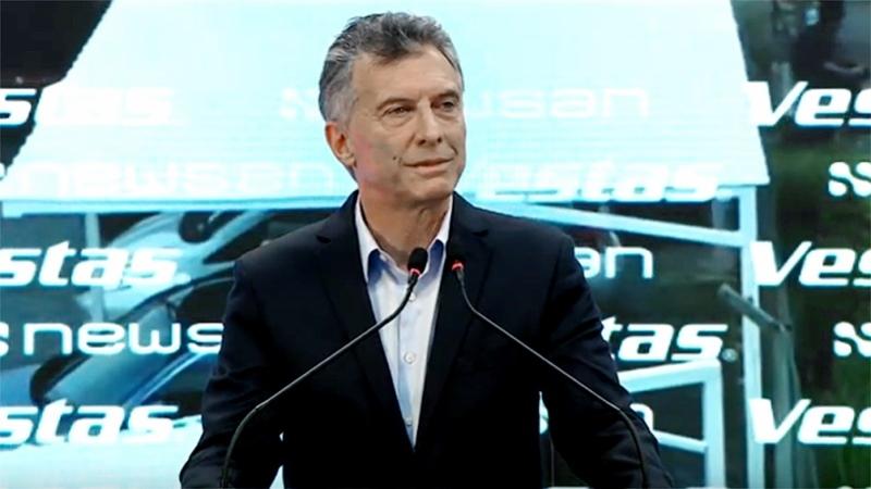 """57dce9953 El presidente Mauricio Macri afirmó hoy su compromiso en promover las  energías renovables, con la meta de que en el año 2025 """"el veinte por  ciento de la ..."""