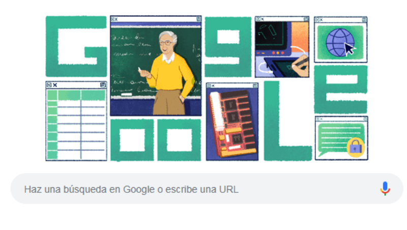 """Michael Leonidas Dertouzos: el genio que predijo internet es el """"Doodle"""" del día"""