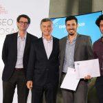 El premio al Emprendedor del Año fue para el cordobés Jairo Trad, creador de Kilimo