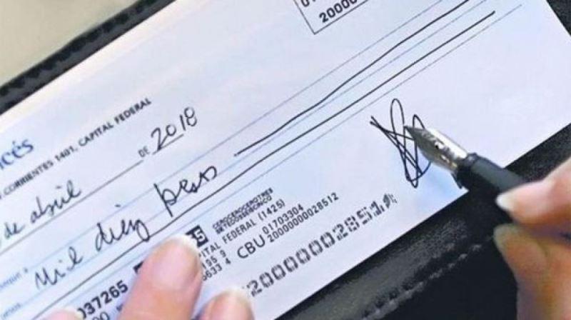 Ya se puede saber con un solo click si un cheque rebota