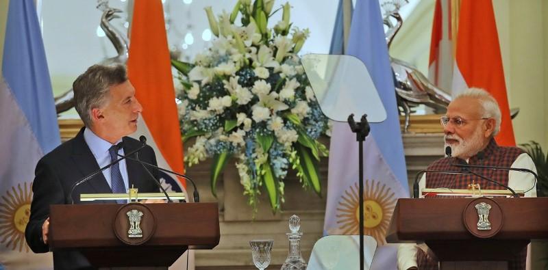 """Macri, en la India y Vietnam: """"Se abren grandes posibilidades para pymes argentinas"""""""