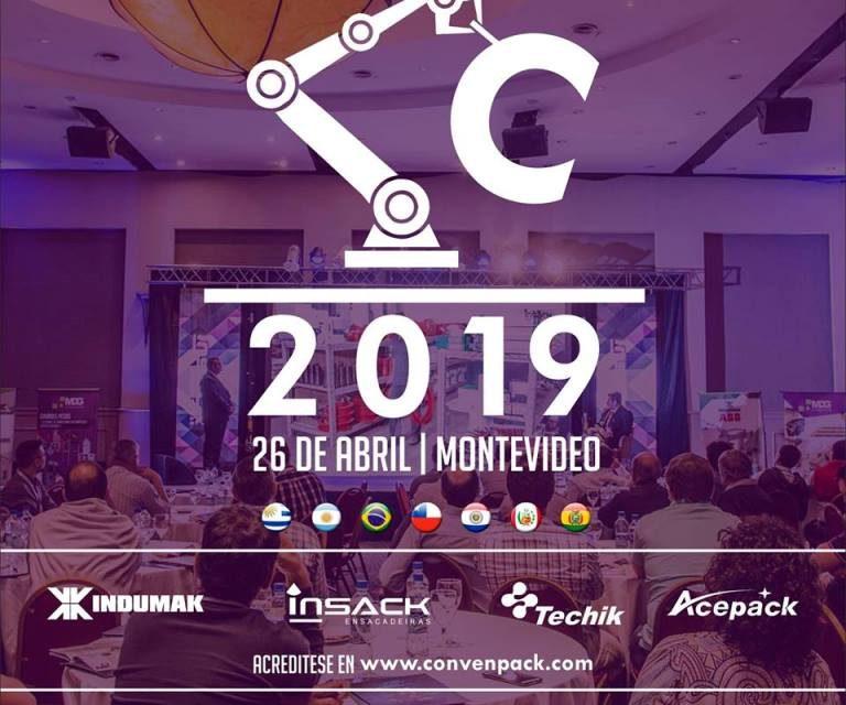 ConvenPACK 2019: Convención Internacional de Robótica, Procesos, Automatismo y Packaging