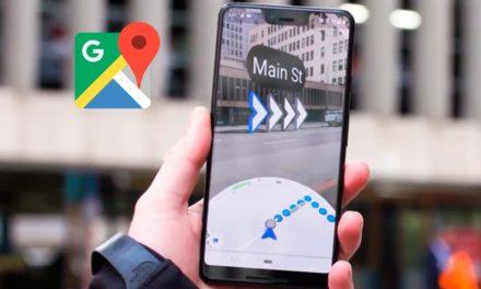 Google Maps con realidad aumentada: así luce la aplicación con la nueva tecnología