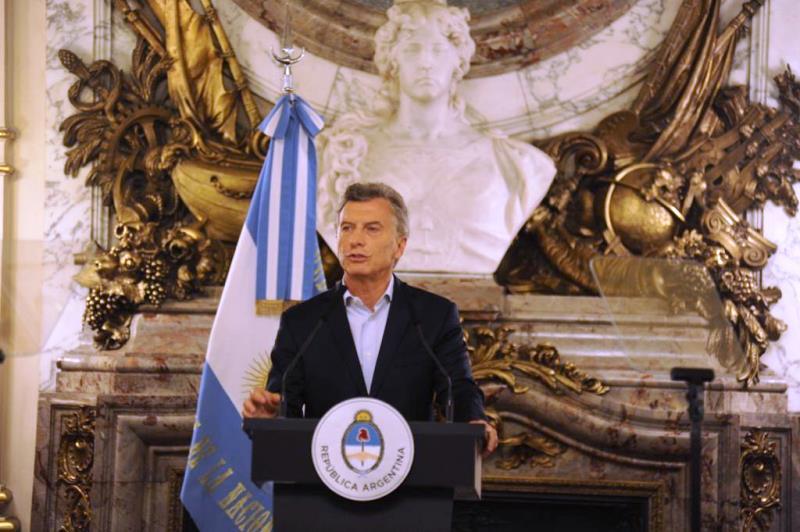 """Macri: """"En la medida que se despeje la duda política la economía va a tomar más impulso"""""""