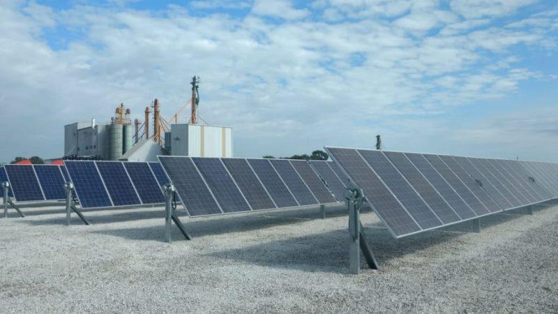 Se inauguró el primer molino harinero que utilizará energía solar