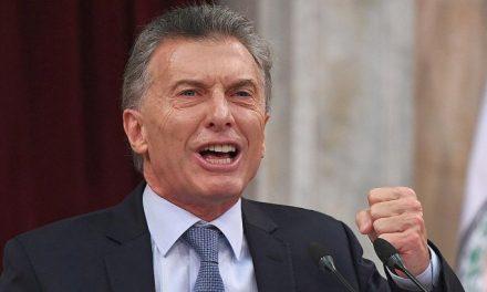 """Macri: """"Estoy caliente, es inaguantable escuchar a los que proponen una solución mágica"""""""