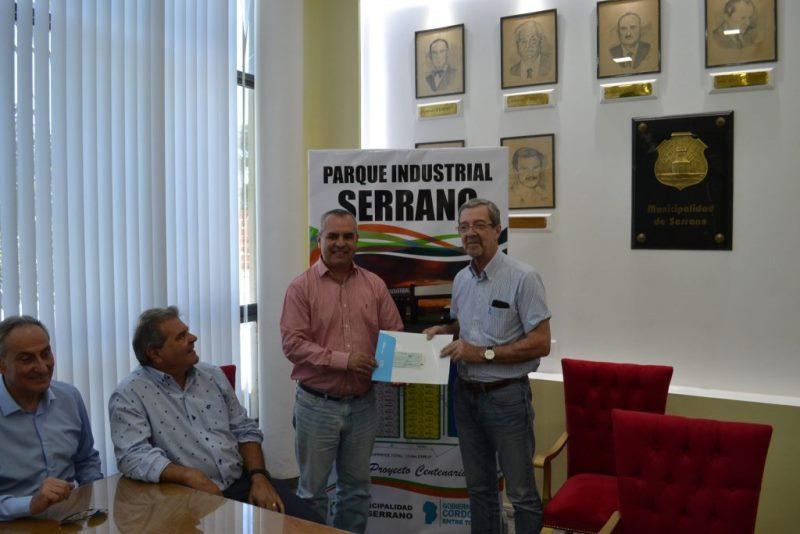 Aportes por un total de $8.080.000 para parques industriales del Dpto. Roque Sáenz Peña