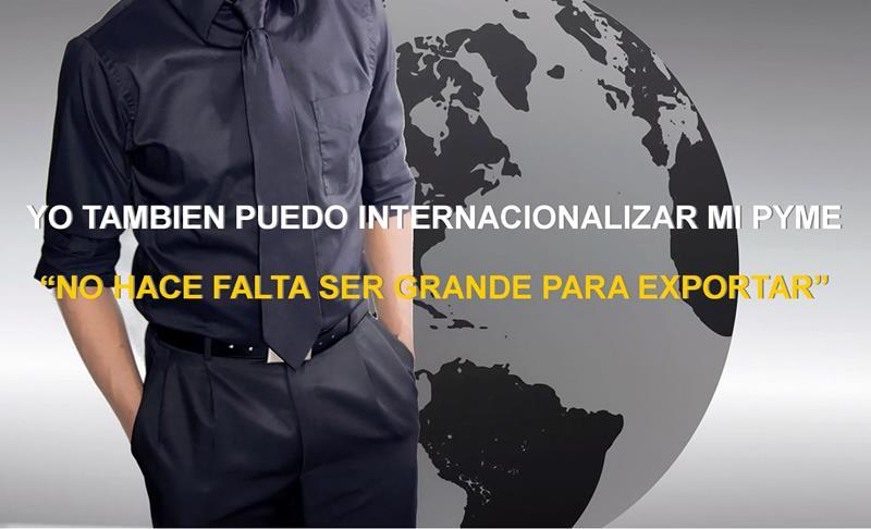 """Invitación Charla: """"YO TAMBIÉN PUEDO INTERNACIONALIZAR MI PYME"""""""