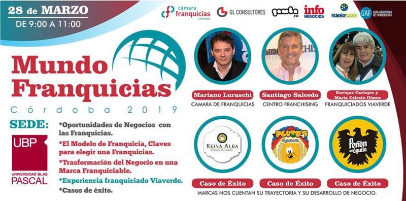 """La Cámara de Franquicia de Córdoba presenta """"Mundo Franquicias"""""""