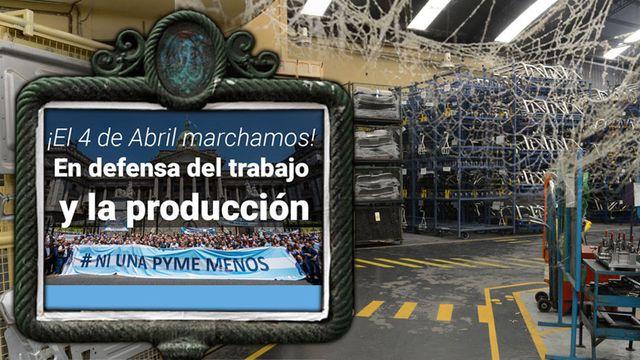 Las Pymes marchan con la CGT y presentan proyecto de ley para frenar embargos y subas de tarifas