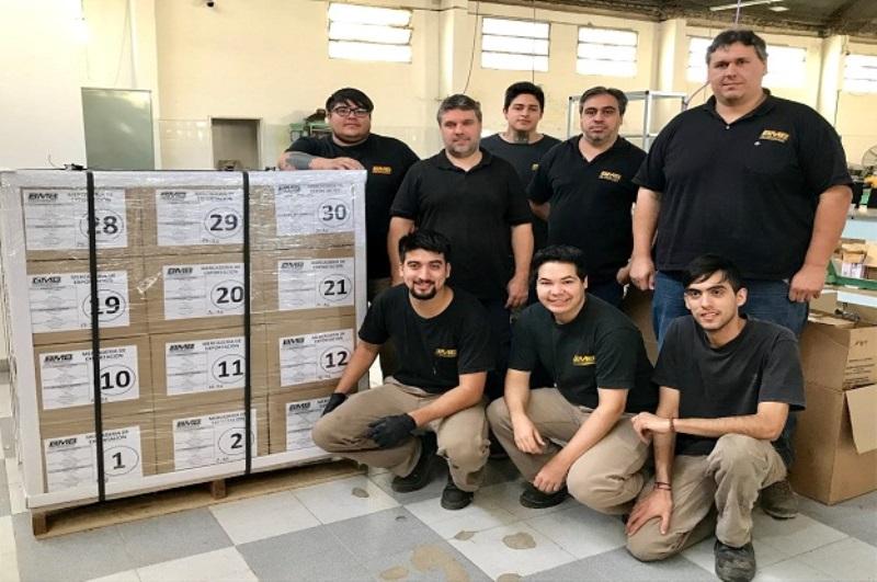 Pyme autopartista realiza su primera exportación junto a ProCórdoba