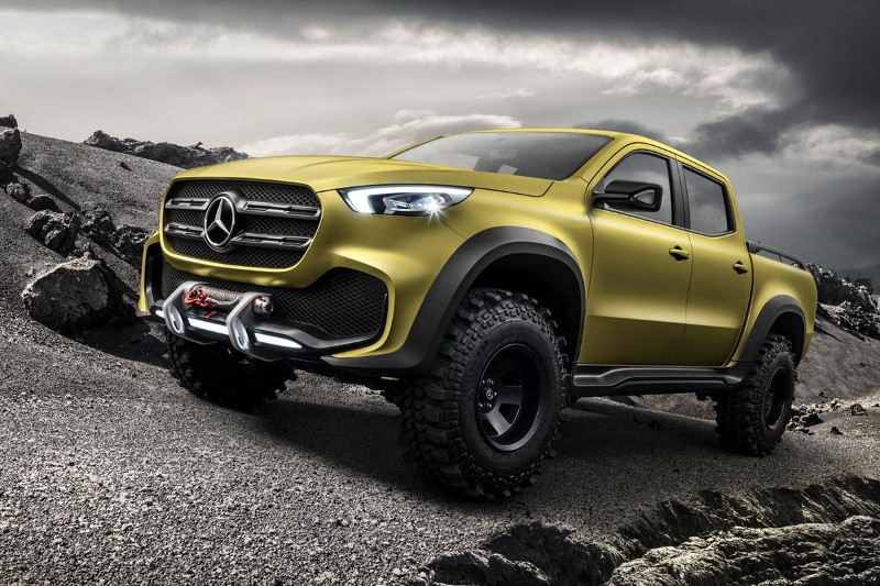 "La crisis se ""llevó puesto"" el proyecto de la Pick Up Mercedes-Benz nacional"