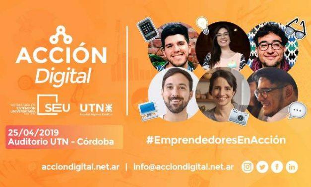 Acción Digital llega a Córdoba con un evento de formación intensiva para emprendedores