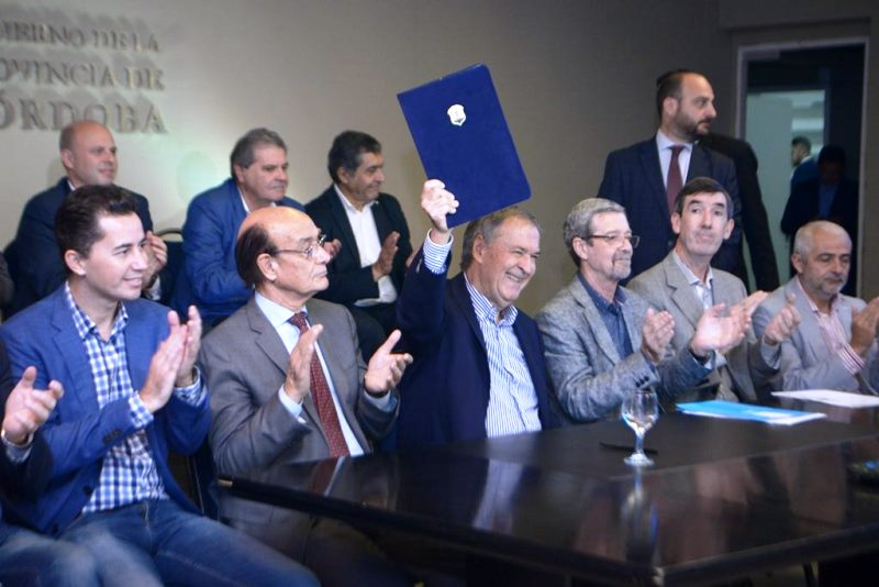 El Gobierno de la Provincia de Córdoba financiará la creación de 60 nuevos Parques Industriales