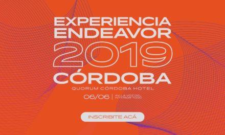 Agendá 6 de junio: Experiencia Endeavor Córdoba