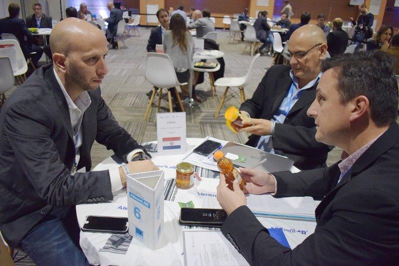 """La """"Ronda Internacional de Negocios ALIMENTAR"""" convocó a 130 empresas alimenticias"""