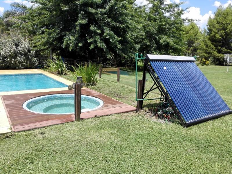 Climatización de piletas con energía solar