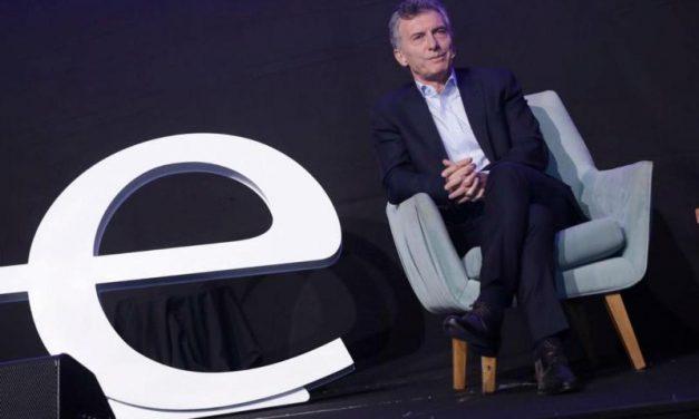 """Macri: """"Me siento un emprendedor, me identifico mucho con su convicción"""""""