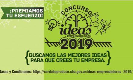 Premio Ideas Emprendedoras: Abrió la convocatoria 2019