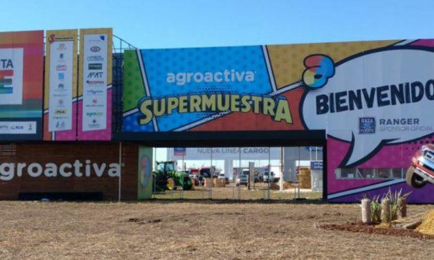 Comenzó Agroactiva en Santa Fe con más de 750 expositores