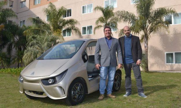 VOLT Motors presentó los z1 serie, un vehículo para predios cerrados