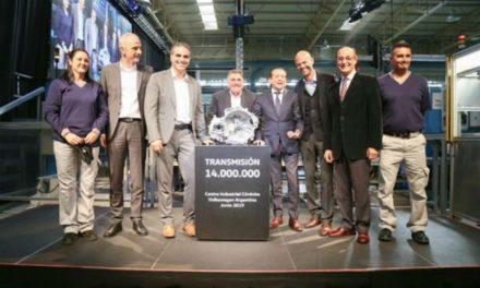Volkswagen celebró en Córdoba la fabricación de la caja de transmisión N° 14.000.000