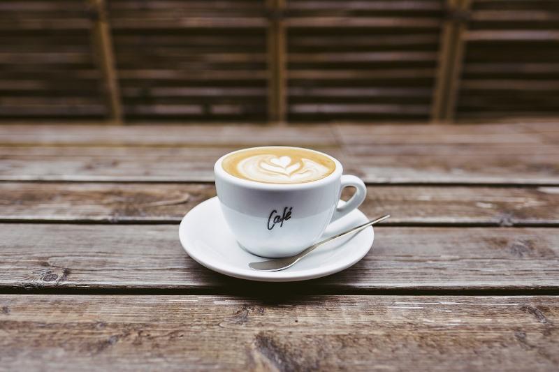 El emprendedor y la taza de café