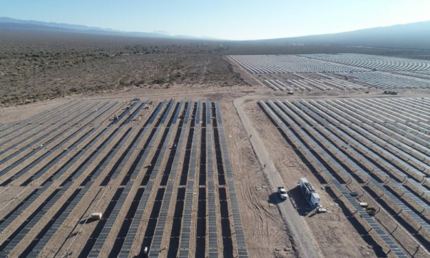 Comenzó a operar en San Juan el Parque Solar Ullum IV