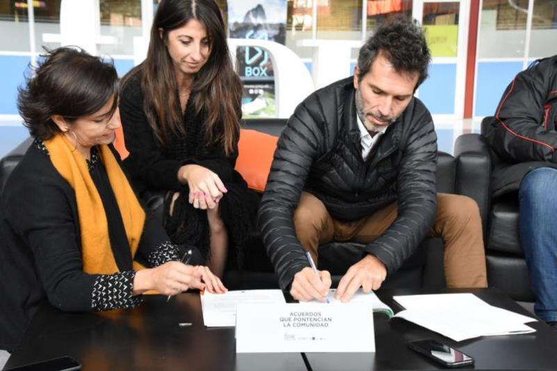 Nuevo convenio con la fundación para la incubación de empresas