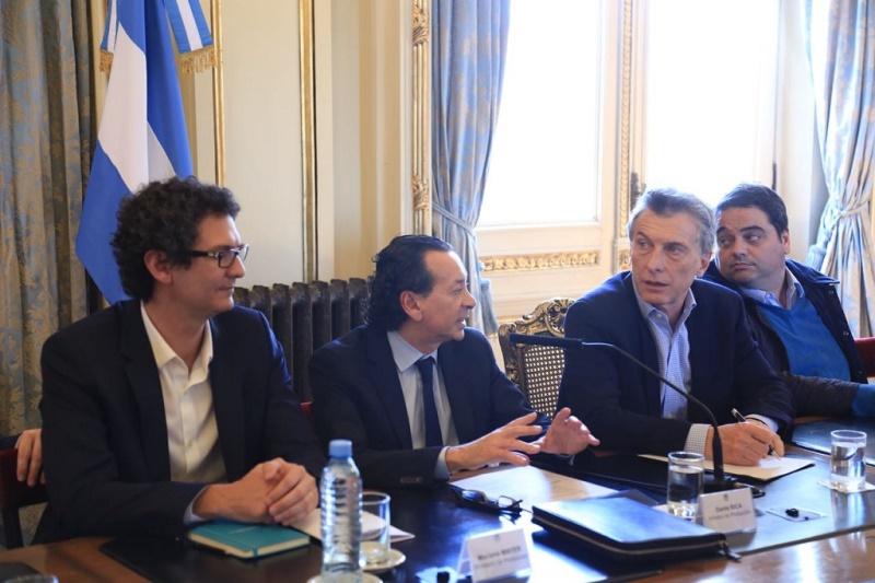 Macri aseguró a entidades empresarias que la UE destinará fondo para pymes