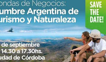 La ciudad de Córdoba recibirá la Cumbre Argentina de Turismo y Naturaleza