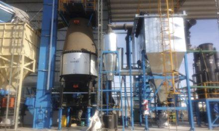 Un pueblo cordobés inaugura su planta eléctrica que utilizará cáscara de maní